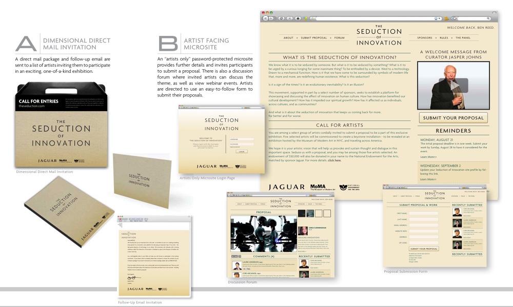 Jaguar Seduction Of Innovation Social Media Project Blythealpern